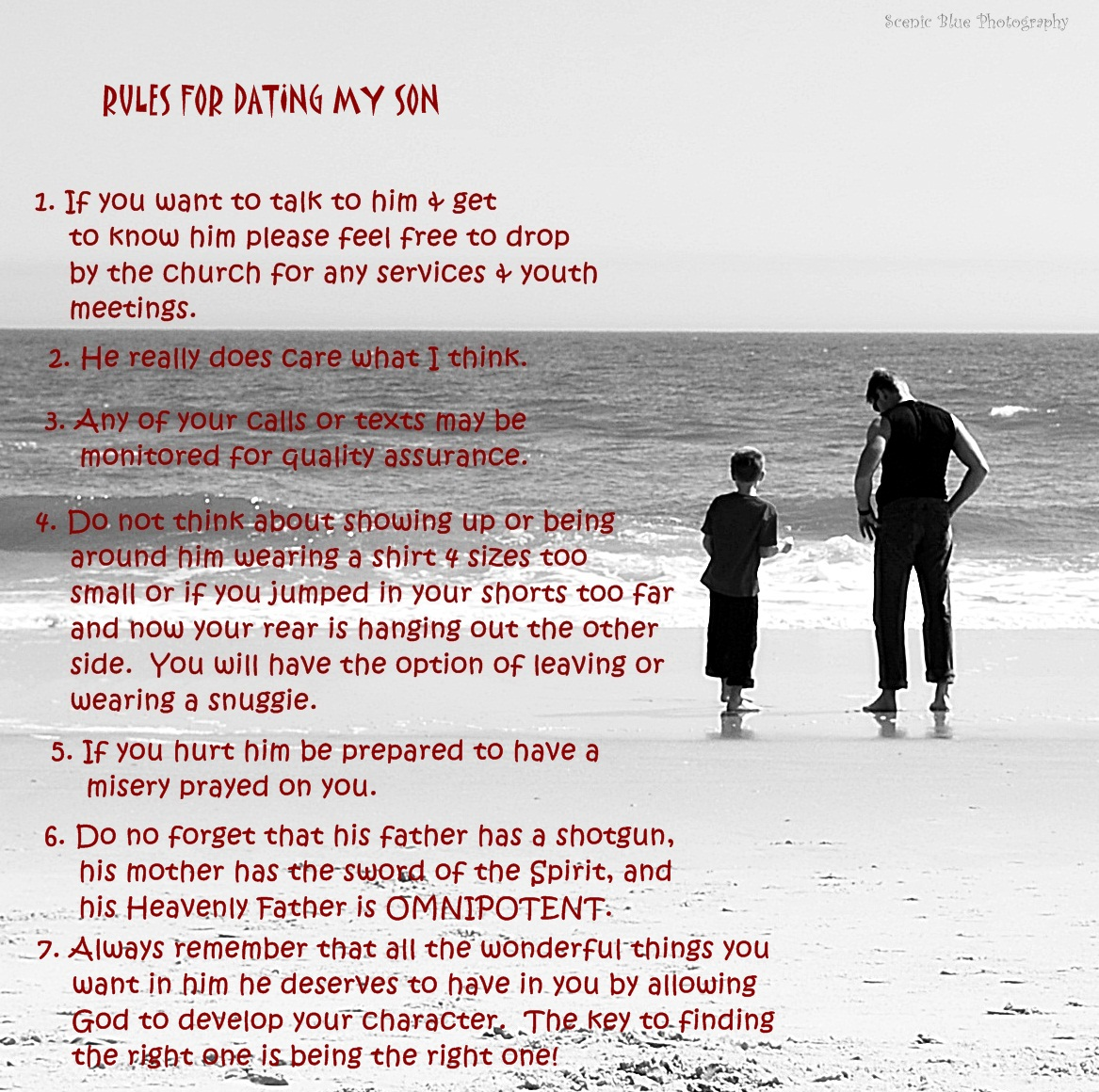 christian rules for dating It is entitled 10 rules for dating my daughter i both laughed and resonated with this list  decide on your dating rules long before you need them.